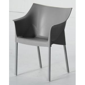 Designstoel grijs Philippe Starck