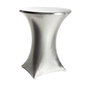 Statafelrok stretch, zilver