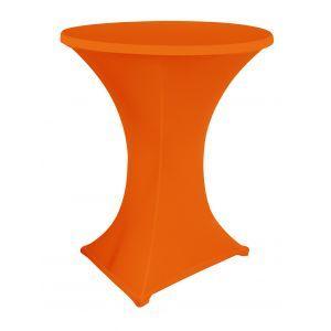 Statafelrok stretch, oranje