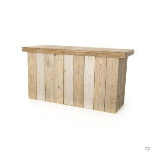 Buffettafel Pure wood 200x80x(h)103 cm.
