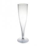 Champagneflute plastic100cc p/10 st.? Van der Schoot Partyverhuur - snel en voordelig bezorgd!