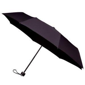 Inschuifbare paraplu zwart (Ø)100 cm