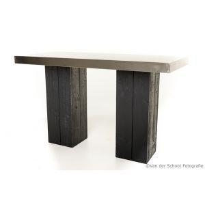 Statafel Industrial Grey 180x80x(h)110 cm.