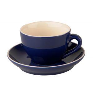 Cappuccino kop & schotel 18 cl. blauw
