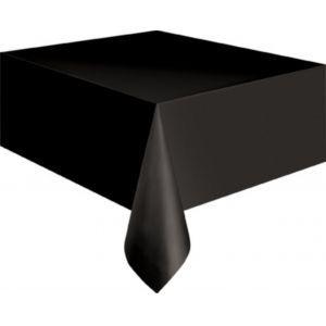 Tafellaken 210x210 cm zwart (polyester)