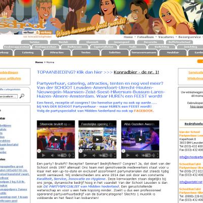 Oude website in een nieuwe jas