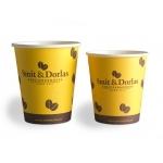 Smit & Dorlas karton Cappuccino beker 200 cc p/50 st.? Uit voorraad bij v/d Schoot Partyverhuur - snel en voordelig bezorgd!