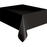 Tafellaken 250x130 cm. zwart (polyester) huren? Van der Schoot Partyverhuur - snel en voordelig bezorgd!