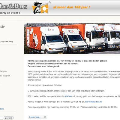 Overname verhuurbedrijf Herko & Bus