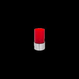 Tafellampje helder rood (Ø)7x(h)14 cm