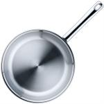 Inductie koekenpan rvs (Ø)24x(h)4,5 cm. huren? Van der Schoot Partyverhuur - snel en voordelig bezorgd!
