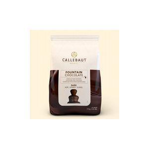 Donkere smeltchocolade Callebaut 2,5 kg. p/zak