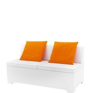 Loungebank Milano 160x80x(h)50 cm. (incl. rugleuning)