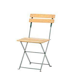 Bistro stoel hout gelakt