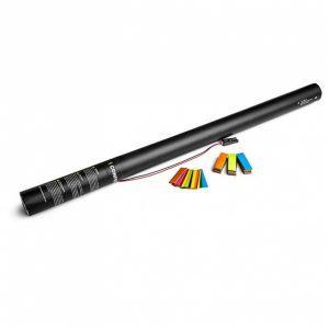 Multicolor 80 cm. confetti electric cannon