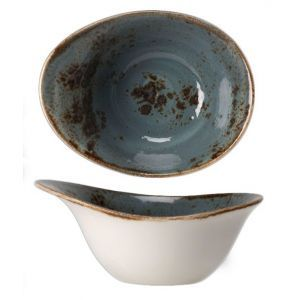 Bowl 18x14 cm. Craft Blue