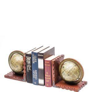 Boekenhouderset wereldbol incl. 3 boeken