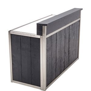 Bar Industrial Grey 171X73X(h)120 cm.