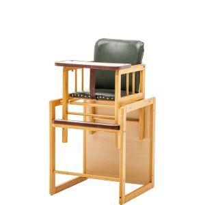 Kinderstoel groene zitting