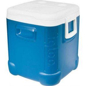 Isolatiebox gevuld met ca. 20 kg. ijsblokjes