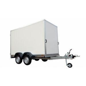 Aanhangwagen (l)300x(b)150x(h)232 cm.