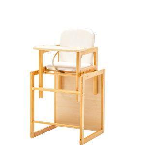 Kinderstoel witte zitting