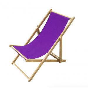 Strandstoel paars 109x59x(h)105 cm.