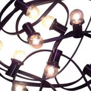 Feestverlichting warmwit 10,5 mtr. (13 lampen)
