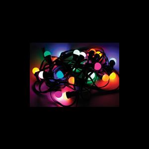 Feestverlichting gekleurd 10,5 mtr. (13 lampen)