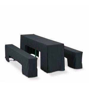 Linnenpakket voor picknickset zwart