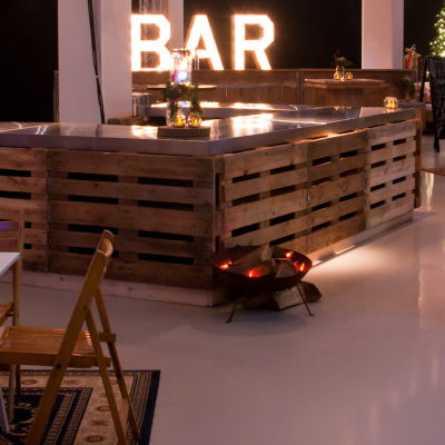 De bar, de blikvanger op elk evenement!