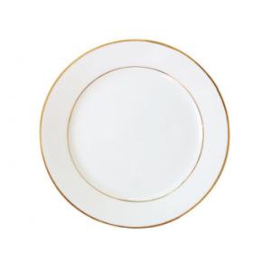 Bord gouden rand 24,5 cm.