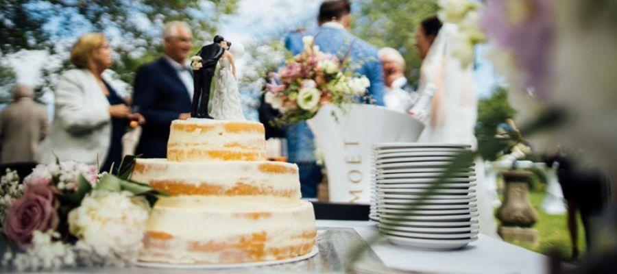 Bruiloftdecoratie