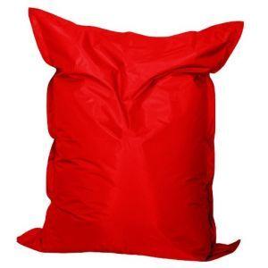 Zitkussen 140x170 cm. rood