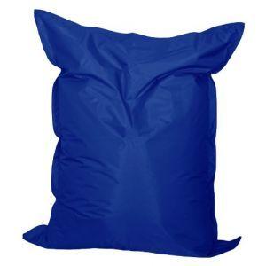 Zitkussen 140x170 cm. kobalt blauw