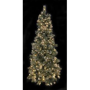 Kerstboom snowy (h)213 cm.