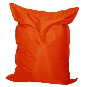 Zitkussen 140x170 cm. oranje