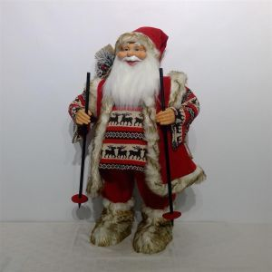 Kerstman rood (h)180 cm.