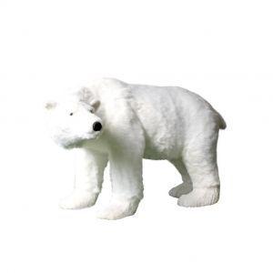 IJsbeer bewegend wit (h)92x(l)135 cm.