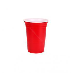 Red Cups 25 stuks 475cc ø0,96x(h)1,18 cm.