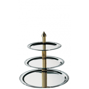 High Tea etagere 3-laags (h)45 cm.