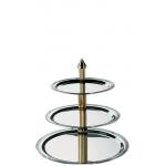 High Tea etagere 3-laags (h)45 cm. huren? Van der Schoot Partyverhuur - snel en voordelig bezorgd!