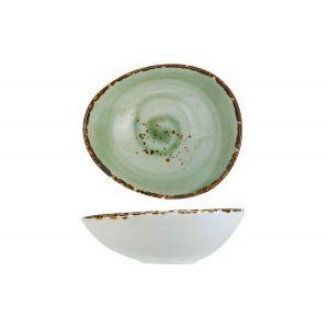 Schaaltje vigo green 13,5x11,7 cm.
