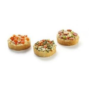 Mini Bruschetta's 72 stuks (38 gram p.st.)
