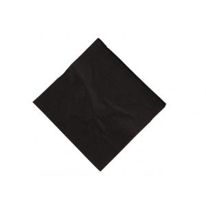 Servet zwart 50x50 (polyester)