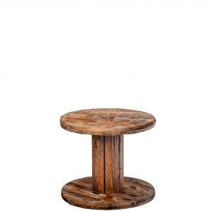 Spoel hout klein (h) 45 ø 60 cm.