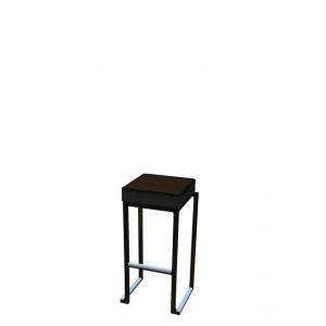 Barkruk square zwart