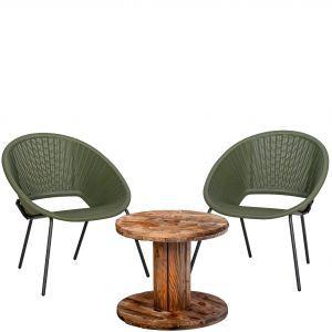Compleet zitje relax 2 stoelen