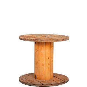 Spoel hout groot (h) 75 ø 85 cm.