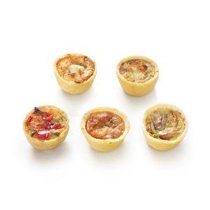 Mini quiches 75 stuks (18 gram p.st.)